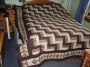 chocolate rail fence quilt